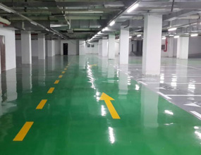 四川商业广场地下停车场